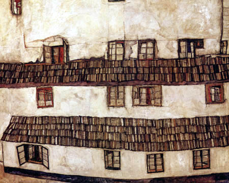 Egon Schiele - Window