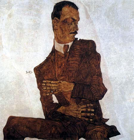 Egon Schiele - Arthur Roessler