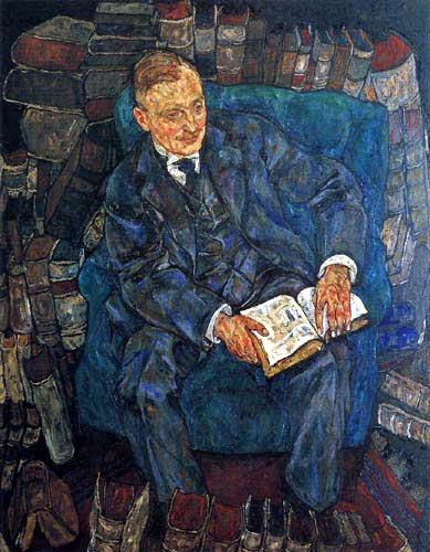 Egon Schiele - Portrait of Dr. Hugo Koller