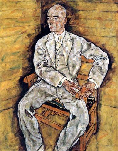 Egon Schiele - Portrait of Victor Ritter von Bauer
