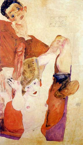 Egon Schiele - The Red Host
