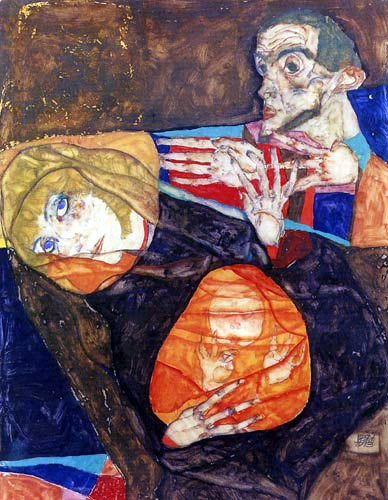 Egon Schiele - Holy Family