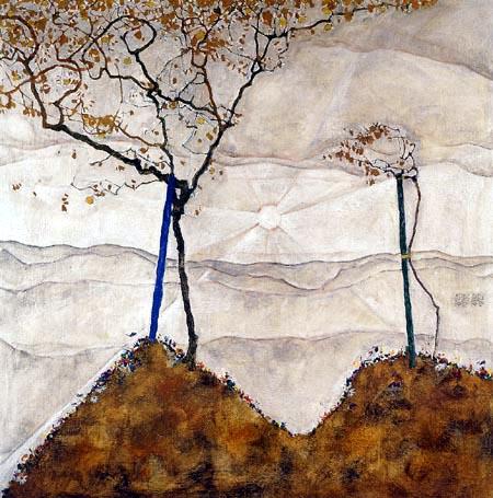 Egon Schiele - Autumn Sun I