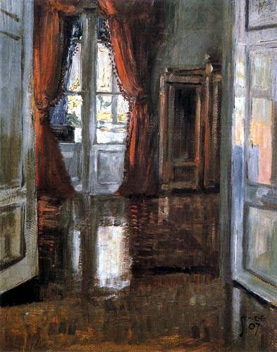 Egon Schiele - Interieur