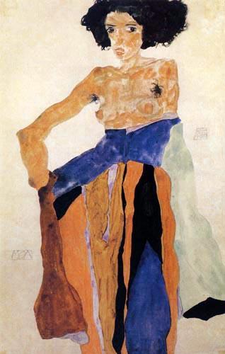 Egon Schiele - Moa