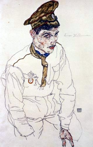 Egon Schiele - Russischer Kriegsgefangener