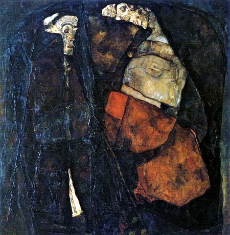 Egon Schiele - Mother and Death