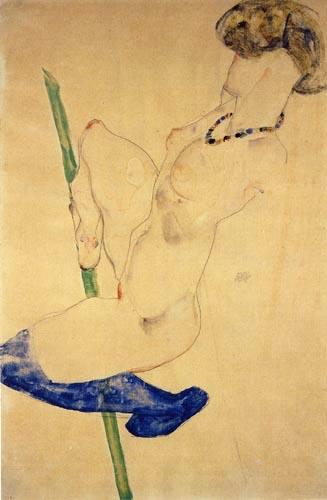 Egon Schiele - equilibrist