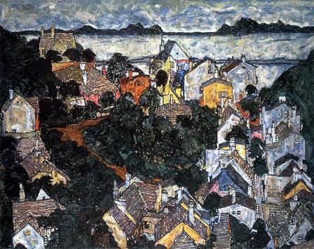 Egon Schiele - Summer Landscape