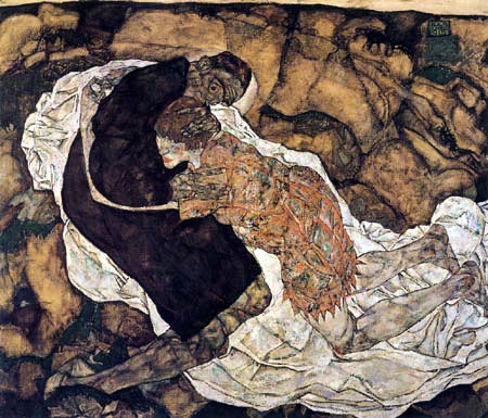 Egon Schiele - The Death and the Girl
