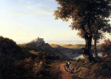 Johann Heinrich Schilbach - Castel Gandolfo