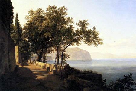 Johann Heinrich Schilbach - San Francesco near Amalfi
