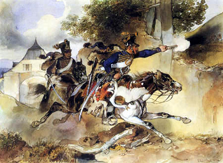 Carl Schindler - The furious Hussar