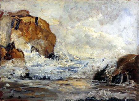 Emil Jakob Schindler - Surf
