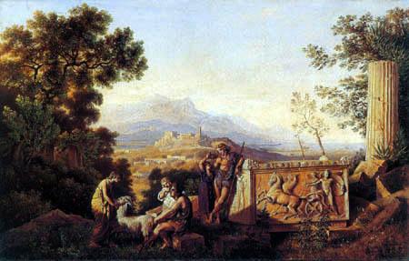 Karl Friedrich Schinkel - Greek landscape