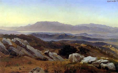 Johann Wilhelm Schirmer - Civitella und die Serpentara