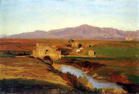 Johann Wilhelm Schirmer - Ponte Nomentana