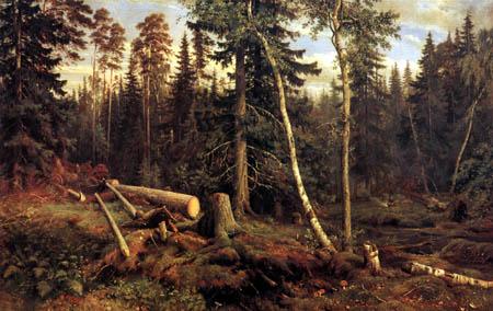 Iwan Iwanowitsch Schischkin - Die Holzfäller