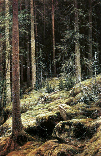 Iwan Iwanowitsch Schischkin - Waldesdunkel