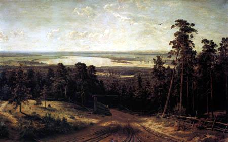 Iwan Schischkin - Kama près de Jelabuga