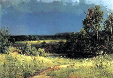 Iwan Schischkin - Devant l'orage