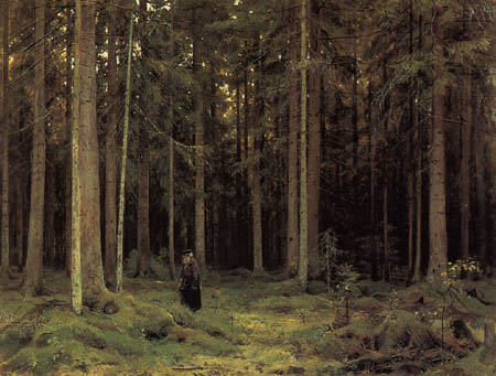 Iwan Schischkin - Dans la forêt de la comtesse Mordinowa
