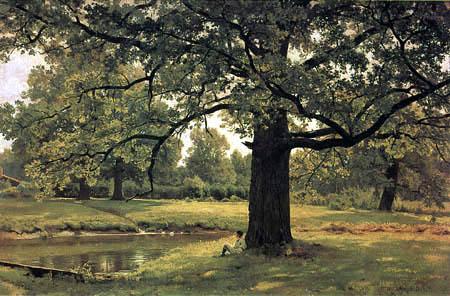 Iwan Schischkin - Oaks