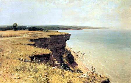 Iwan Schischkin - At the coast of the Finnish bay, Udrias near Narwa