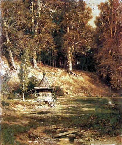 Iwan Schischkin - Forest chapel