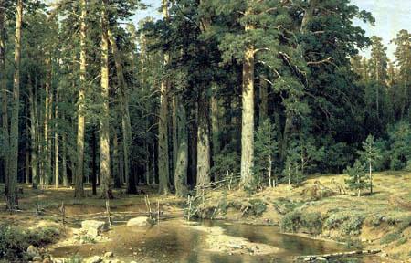 Iwan Schischkin - High forest