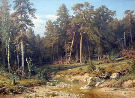 Iwan Schischkin - Pinewood, Wjatka
