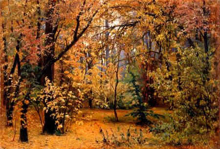 Iwan Iwanowitsch Schischkin - Herbstwald