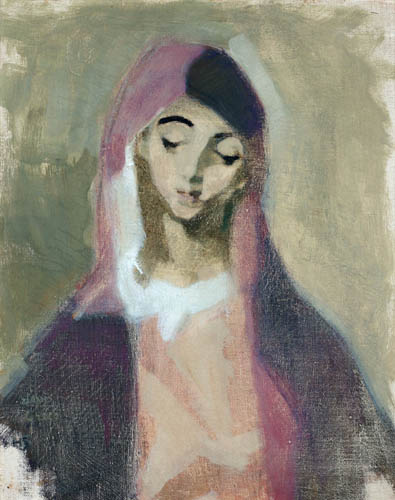 Helene Schjerfbeck - Madonna of Charity