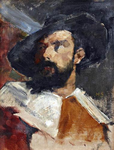 Helene Schjerfbeck - Portrait of a man