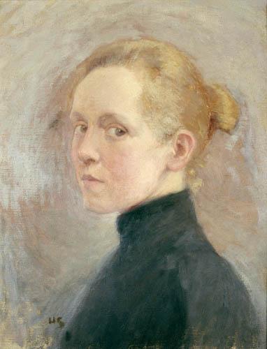 Helene Schjerfbeck - Selbstbildnis