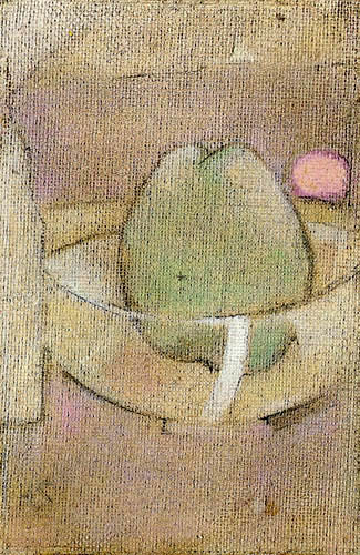 Helene Schjerfbeck - Der grüne Apfel