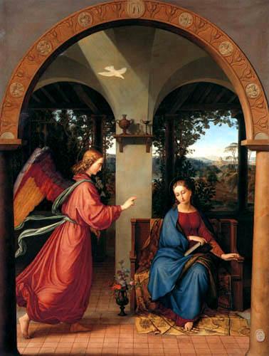 Julius Schnorr von Carolsfeld - Annunciation