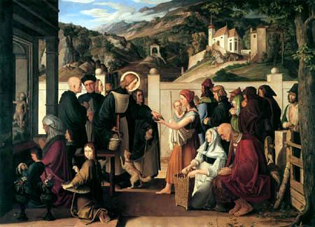 Julius Schnorr von Carolsfeld - Saint Roch