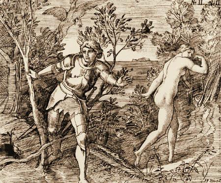 Julius Schnorr von Carolsfeld - Angelica and Roger