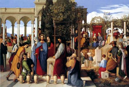 Julius Schnorr von Carolsfeld - Marriage at Cana