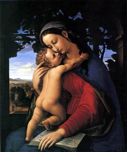 Julius Schnorr von Carolsfeld - Maria with Child