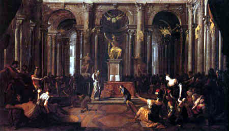 Johann Heinrich Schönfeld - The Oath of Hannibal