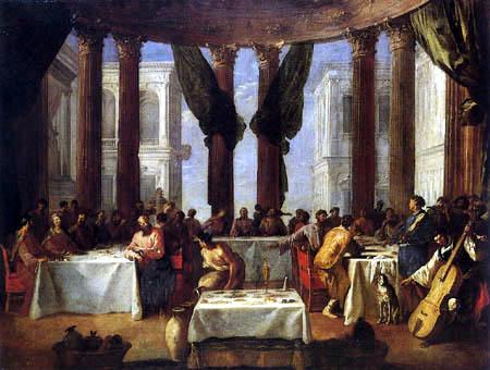 Johann Heinrich Schönfeld - Marriage at Cana