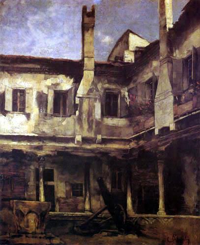 Carl Schuch - Abbazia di S. Gregorio, Venice