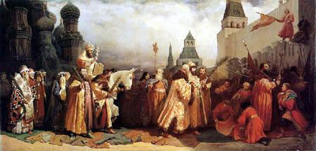 Wjatscheslaw Grigorjewitsch Schwarz - Palm Sunday in Moscow