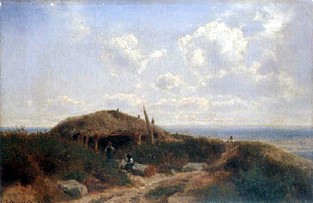 Carl Schweich - Dune landscape