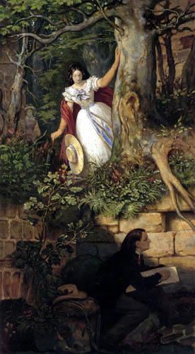 Moritz von Schwind - Abenteuer des Malers Joseph Binder