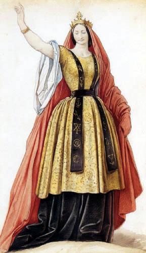 Moritz von Schwind - Karoline Hetzenecker