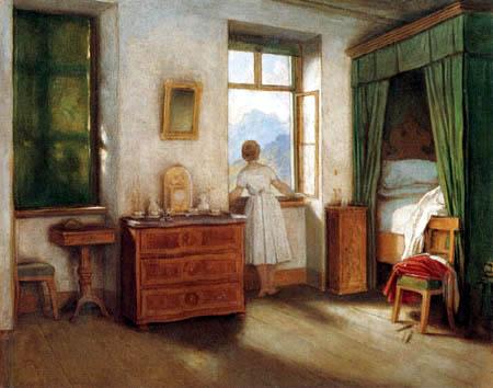 Moritz von Schwind - La hora de la mañana