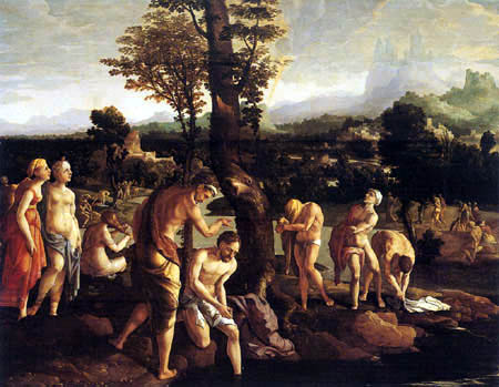 Jan van Scorel - Baptism of Christ
